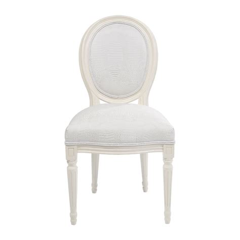 chaise baroque blanche chaise baroque blanche louis kare design