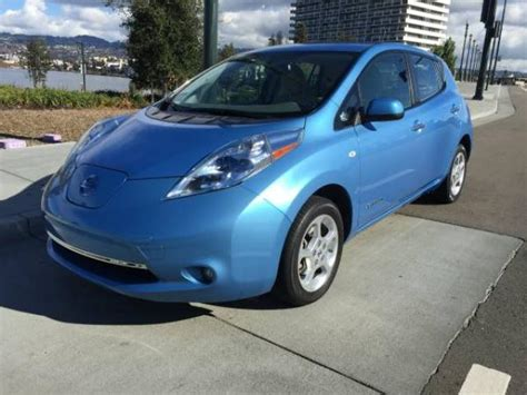 nissan leaf ads used 2011 nissan leaf sl original for sale california