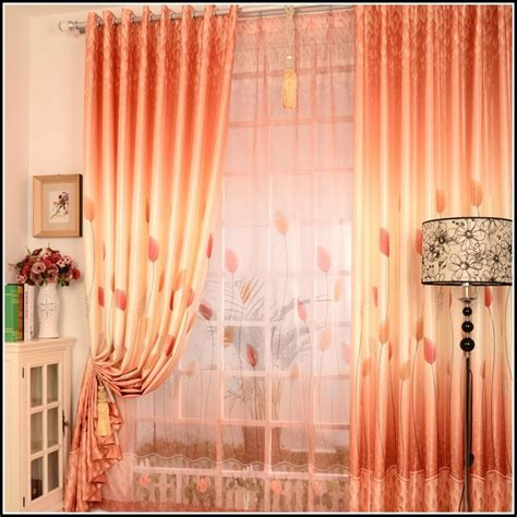 orange striped curtains red and orange striped curtains download page home