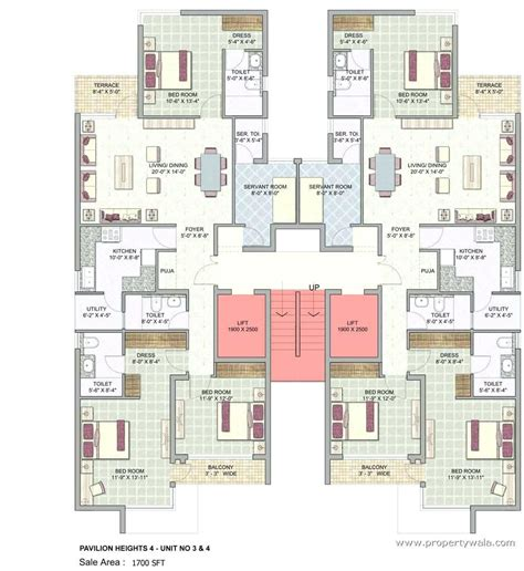 3 bedroom unit floor plans 4 unit apartment building plans kot me