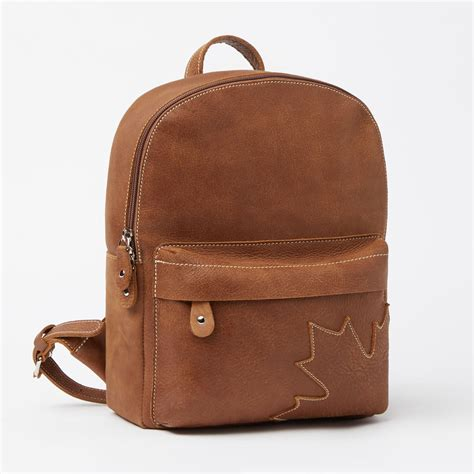made in canada leather bags roots
