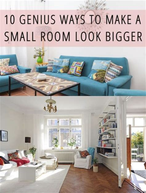 how to make room look bigger 10 genius ways to make a small room look bigger keep in