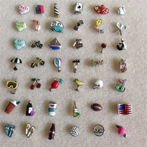 origami owl retired charms authentic origami owl charms new ebay