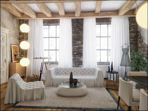 Loft Fenster Sichtschutz by Bloombety Loft Window Treatments With Hanging Lantern