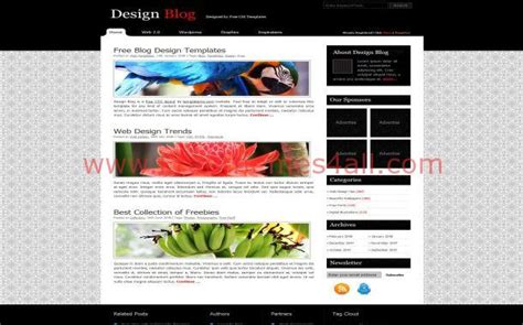free jquery website templates for business free jquery business black css website template