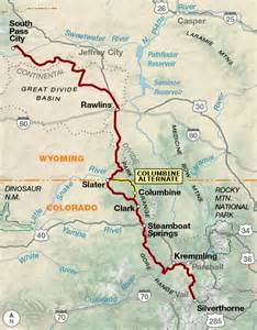 continental divide colorado map great divide mountain bike route adventure cycling route