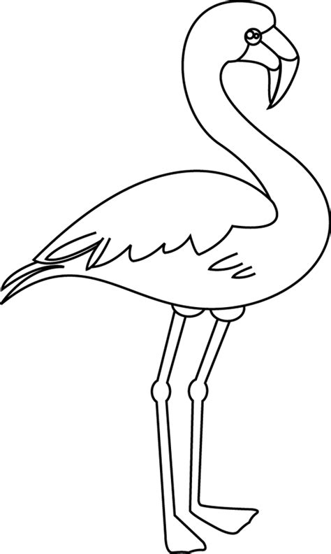 Un Flamant Rose Dory Fr Coloriages Coloriage Flamant Rose L