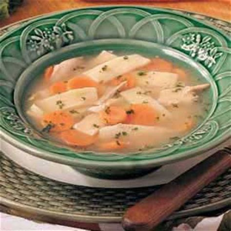 hearty chicken noodle soup recipe taste of home