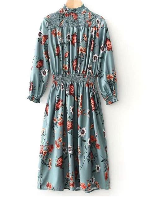 Panel Floral Midi Dress best 25 sleeve floral dress ideas on