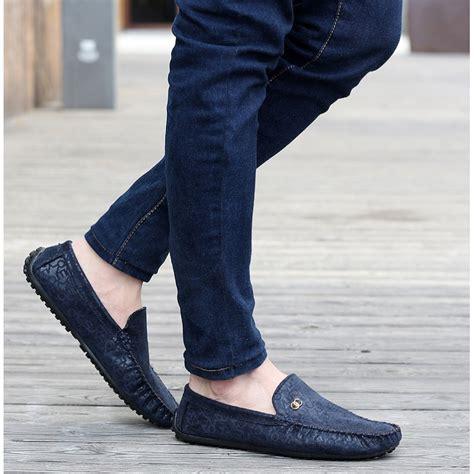 Model Sepatu Casual Pria Circle Slipon 1 jual sepatu slip on pria