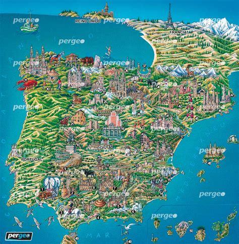 miscelaneas cultura imagenes geografia mapa art 237 stico de espa 241 a mapa de espa 241 a mapa art 237 stico