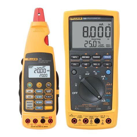 Fluke 789 Process Meter Multimeter fluke 789 773 loop calibrators transcat