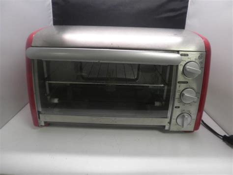 Kenmore 6 Slice Convection Toaster Oven Kenmore Convection Toaster Oven Stainless Metal 81005 Ebay