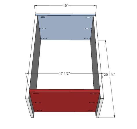 kitchen trash can cabinet plans ask home design