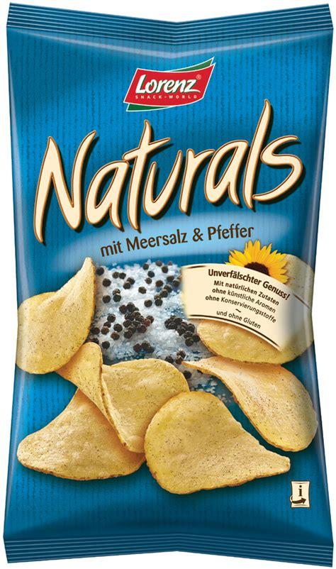 Lorenz Chips lorenz naturals sea salt and black pepper