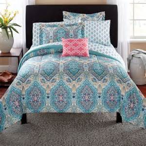 Walmart King Size Bed In A Bag Mainstays Monique Paisley Bed In A Bag Comforter Set
