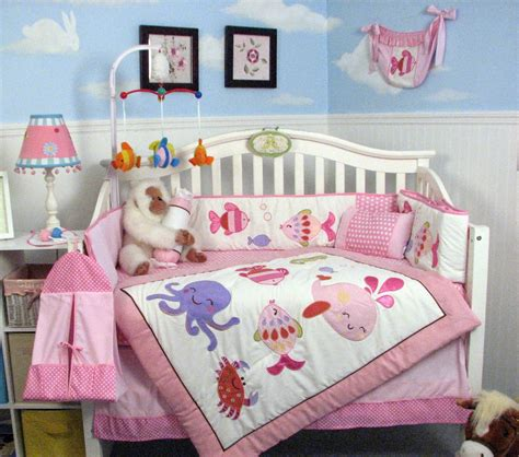 Seahorse Crib Bedding The Right On Vegan Baby Room Decorating The Sea Baby Nursery