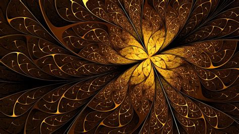Abstract Gold Pattern | brown fractal background 41 wallpapers hd wallpapers