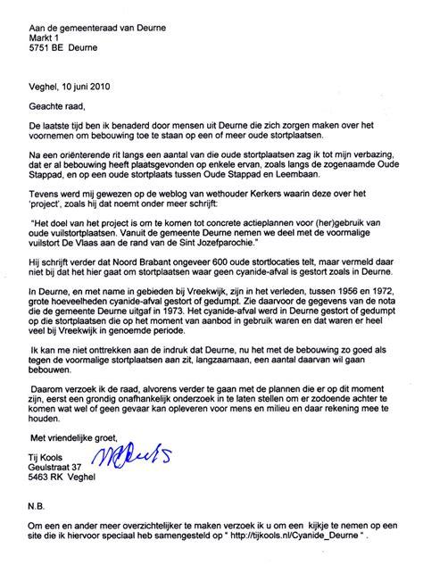 Een Zakelijke Brief Schrijven Nederlands Pdf een brief schrijven voorbeeld cv 2018