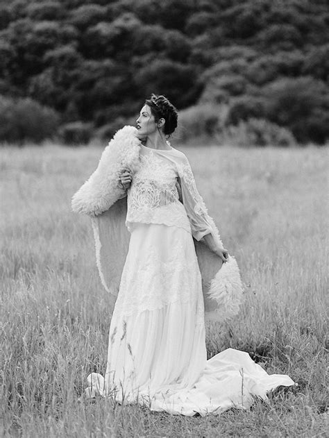 wild bride wedding styled shoot inspired  hunger games