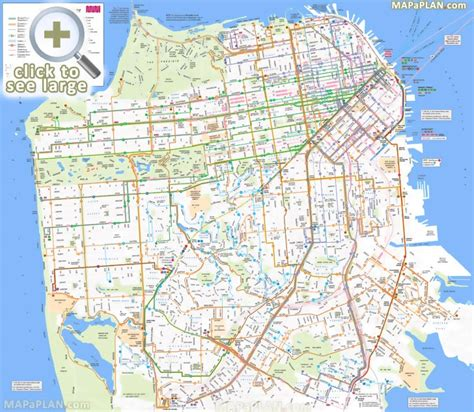 printable street map san francisco san francisco maps top tourist attractions free