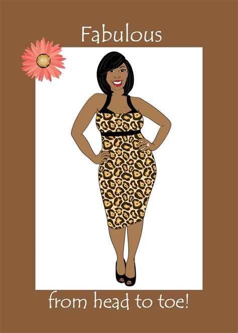 Black Birthday Card Happy Birthday Fabulous From To Toe Card Beautiful