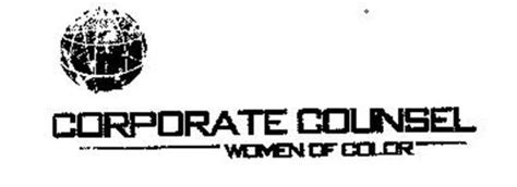 corporate counsel of color corporate counsel of color trademark of corporate