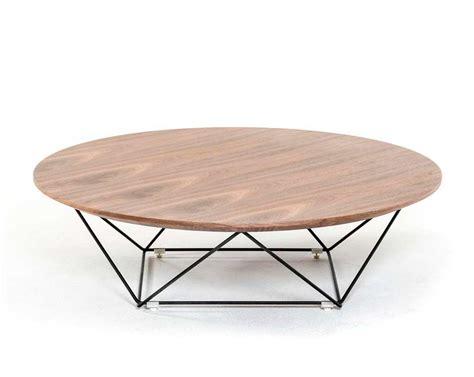 modern walnut coffee table vg115 contemporary