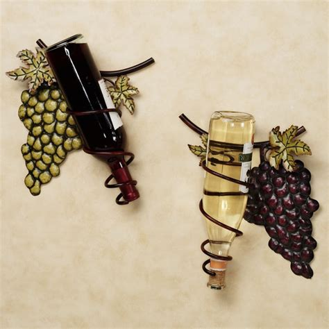 decorative wall mounted wine racks with spiral style nytexas