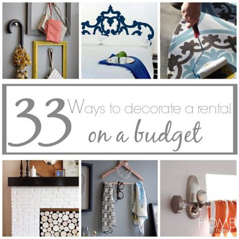 How To Decorate A Rental Home 33 Ways To Decorate A Rental On A Budget The Ribbon