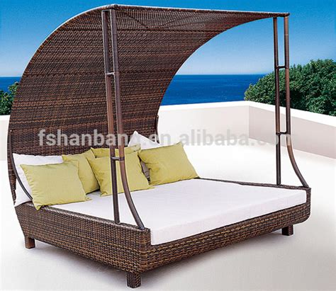 patio sofa bed outdoor patio wicker rattan sunbed daybed furniture