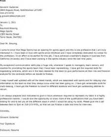 sports cover letter sports cover letter exles best letter sle