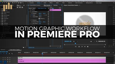 premiere pro workflow create a simple motion graphics workflow in premiere pro