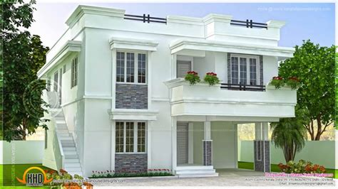 home design photo india house plan in modern style kerala