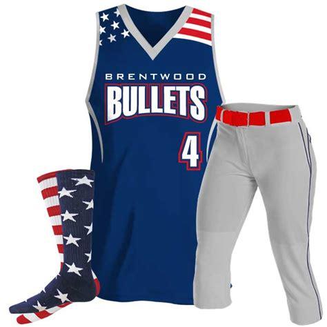 design jersey softball patriotic softball tank design your own custom jersey