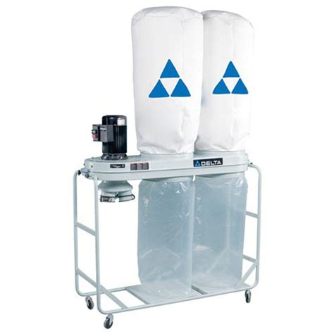 delta dust collectors for woodworking delta 2 hp dust collector 50 761 the home depot