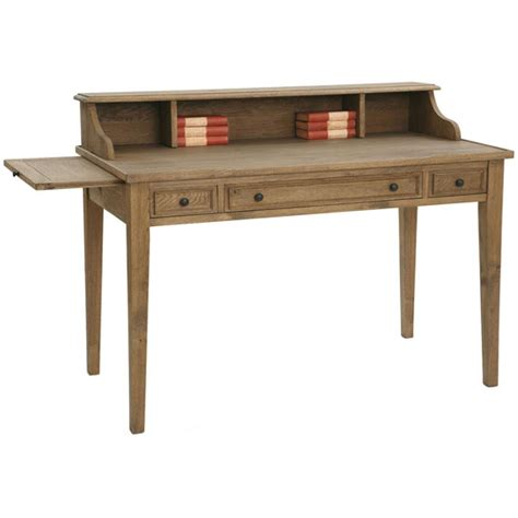 The And The Writing Desk by Repton Writing Desk Weathered Oak Oka