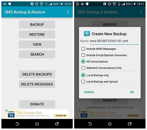 how to backup android phone how to recover deleted text messages on your android phone androidpit