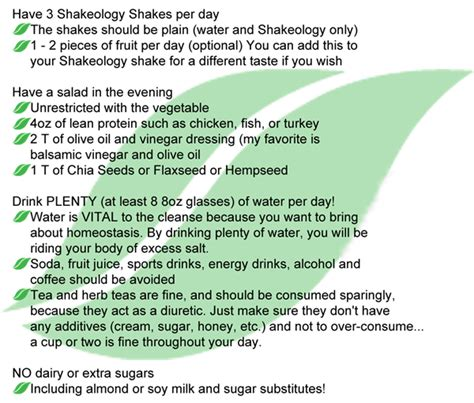 Shakeology Detox Symptoms by Image Gallery Shakeology Cleanse