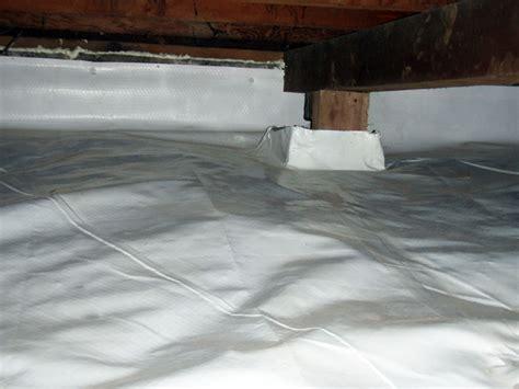 waterproofing sealing crawl spaces