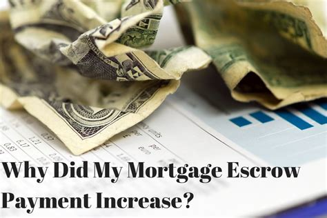 a supplement to escrow is why did my mortgage escrow payment increase alan galvez
