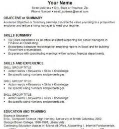 How To Write A Work Resume by How To How To Write Resume