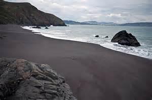brown sand beaches black sand beach