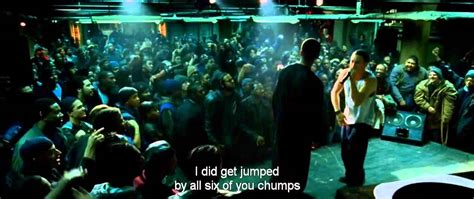 Eminem Movie Rap Battle Lyrics | eminem rap battle vs papa doc 8 mile official video youtube