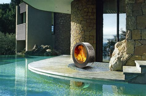 Tractor Room Decor 35 Metal Fire Pit Designs And Outdoor Setting Ideas
