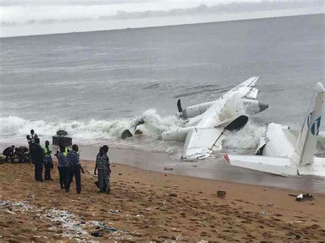 portraits crachs un 2221132092 crash au large d abidjan un avion amerrit dans l oc 233 an atlantique bilan 4 morts et 6 bless 233 s