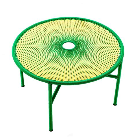 Table L Green by Banjooli Coffee Table L Yellow Green Moroso