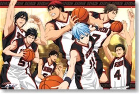 anime basketball series list kuroko s basketball seirin high school anime
