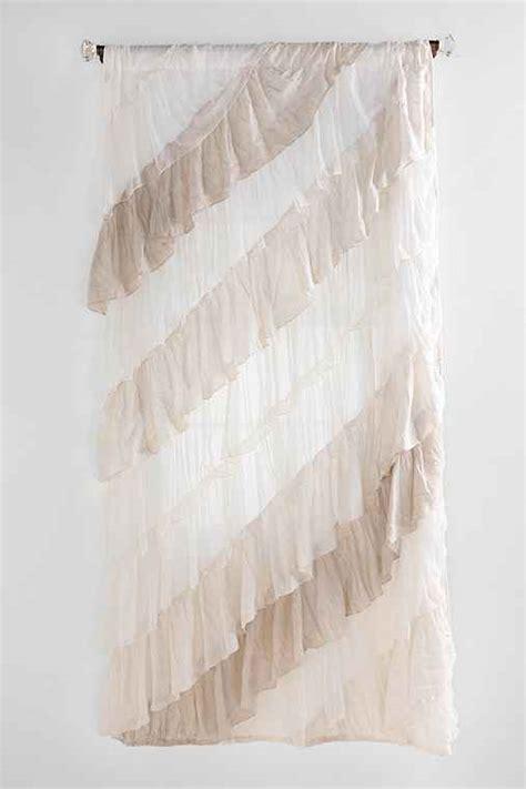 urban outfitters ruffle curtain angled ruffle curtain urban outfitters
