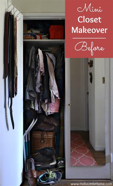 mini closet makeover thanks to the dollar tree anniversary